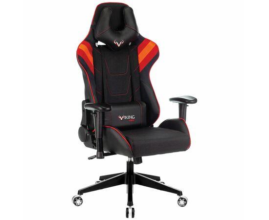 Игровое кресло Бюрократ VIKING 4 AERO Red, Вариант цвета: black/red фото, изображение 2