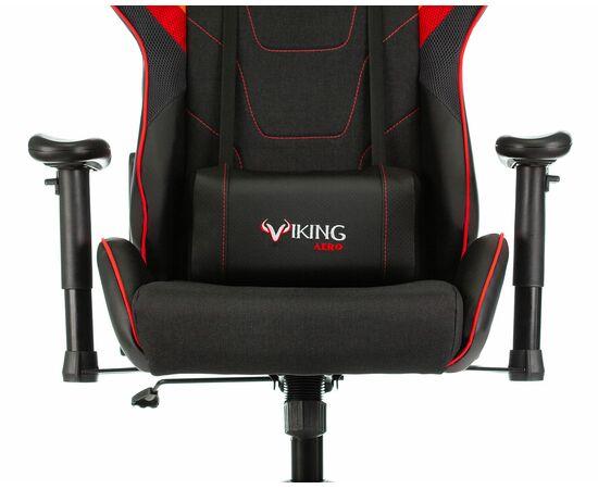 Игровое кресло Бюрократ VIKING 4 AERO Red, Вариант цвета: black/red фото, изображение 6