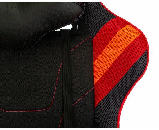 Игровое кресло Бюрократ VIKING 4 AERO Red, Вариант цвета: black/red фото, изображение 8