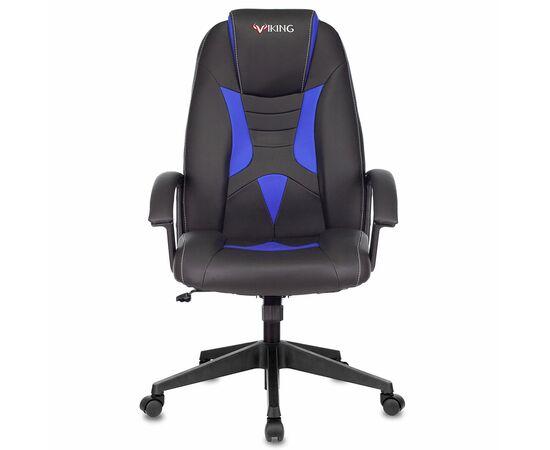Игровое кресло Бюрократ VIKING-8 Black+Blue, Вариант цвета: black/blue фото