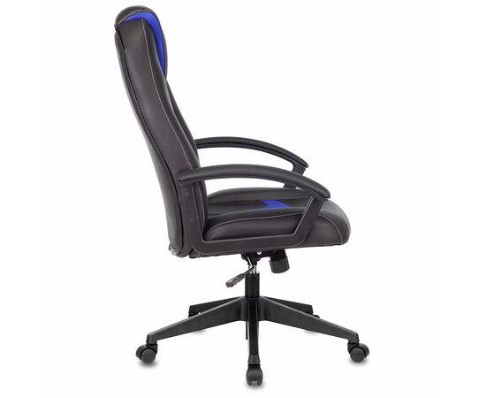 Игровое кресло Бюрократ VIKING-8 Black+Blue, Вариант цвета: black/blue фото, изображение 3