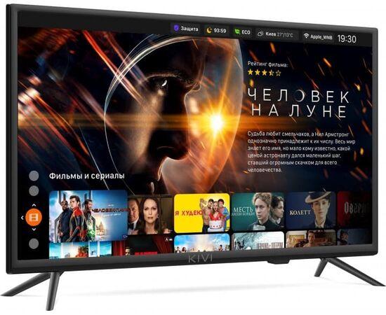 Телевизор Smart 24 дюйма KIVI 24H600KD, черный, изображение 4