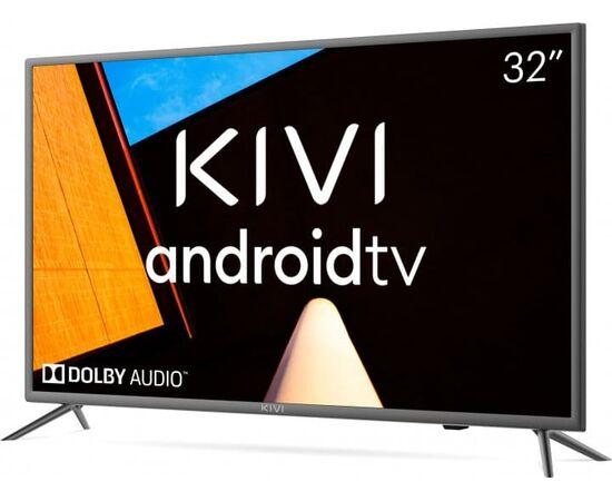 Телевизор Smart 32 дюйма KIVI 32H710KB, Google ATV, черный, изображение 2