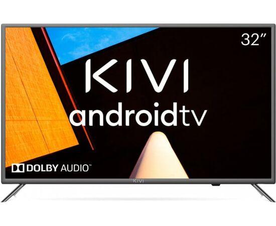 Телевизор Smart 32 дюйма KIVI 32H710KB, Google ATV, черный, изображение 3