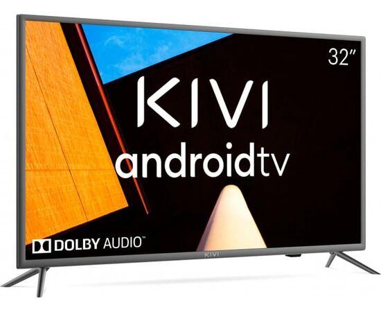 Телевизор Smart 32 дюйма KIVI 32H710KB, Google ATV, черный, изображение 4