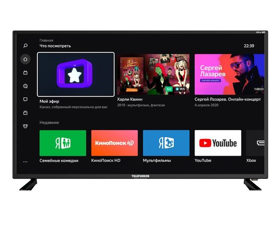 4K Телевизор Smart 43 дюйма Telefunken TF-LED43S05T2SU, изображение 1