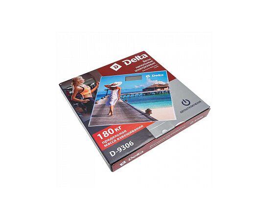Весы напольные электронные DELTA D-9306 Лазурный берег