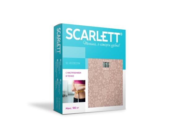 Весы напольные Scarlett SC-BS33E034