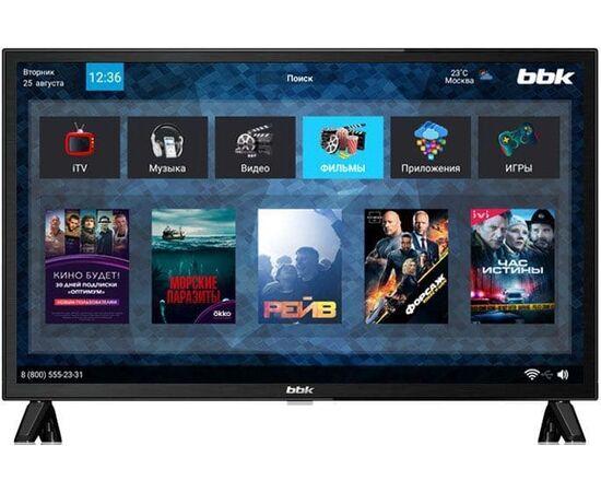 Телевизор SMART 24 дюйма BBK 24LEX-7143/TS2C, изображение 2