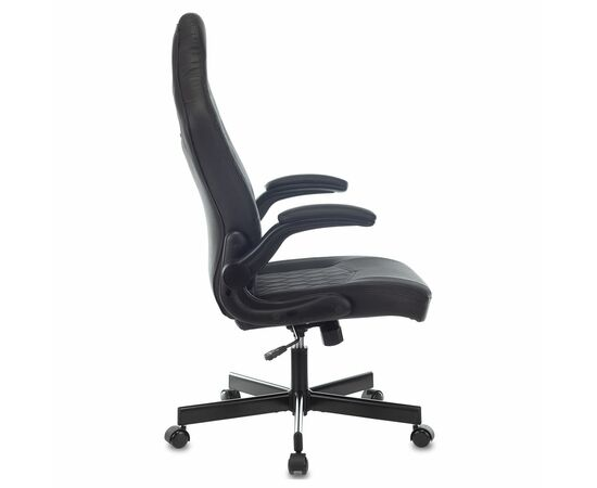 Игровое кресло Бюрократ VIKING 6 KNIGHT черный Diamond 600 фото, изображение 9