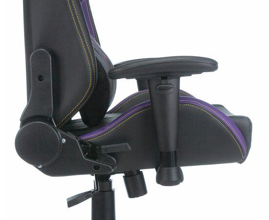 Игровое кресло Бюрократ Zombie HERO JOKER PRO, Вариант цвета: black/violet фото, изображение 10