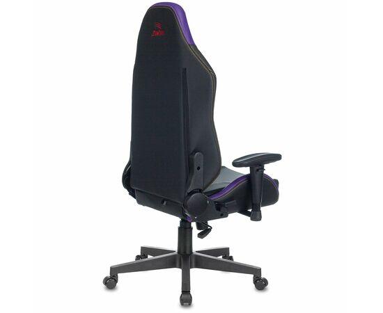 Игровое кресло Бюрократ Zombie HERO JOKER PRO, Вариант цвета: black/violet фото, изображение 14