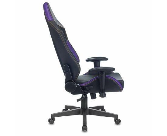 Игровое кресло Бюрократ Zombie HERO JOKER PRO, Вариант цвета: black/violet фото, изображение 15