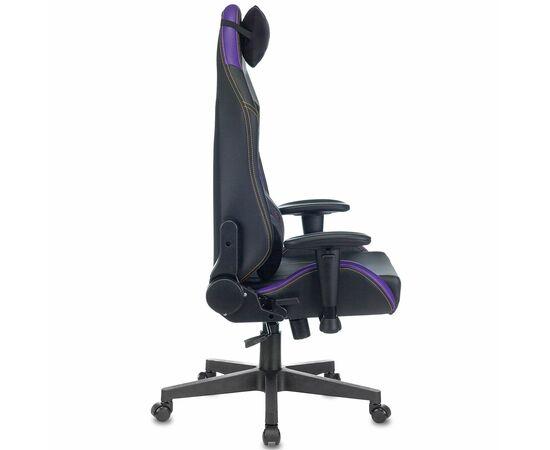 Игровое кресло Бюрократ Zombie HERO JOKER PRO, Вариант цвета: black/violet фото, изображение 3