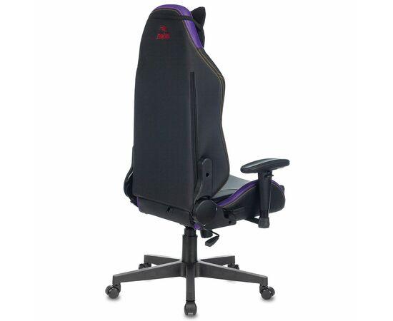 Игровое кресло Бюрократ Zombie HERO JOKER PRO, Вариант цвета: black/violet фото, изображение 4