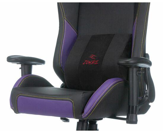 Игровое кресло Бюрократ Zombie HERO JOKER PRO, Вариант цвета: black/violet фото, изображение 8