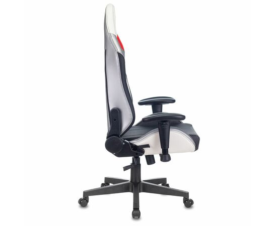 Игровое кресло Бюрократ Zombie HERO QUEEN PRO, Вариант цвета: white/silver фото, изображение 14