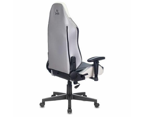 Игровое кресло Бюрократ Zombie HERO QUEEN PRO, Вариант цвета: white/silver фото, изображение 15