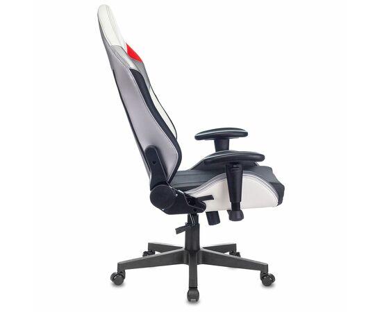 Игровое кресло Бюрократ Zombie HERO QUEEN PRO, Вариант цвета: white/silver фото, изображение 16