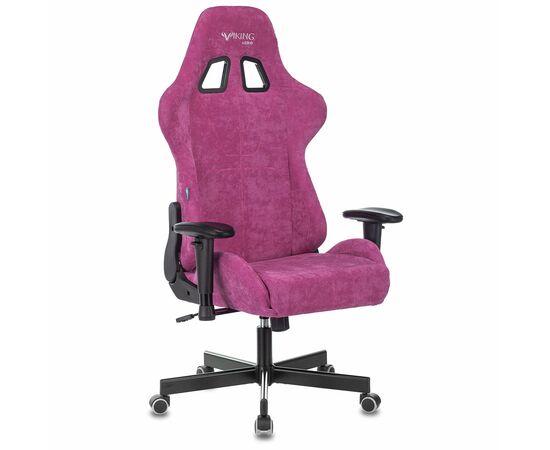 Игровое кресло Бюрократ Zombie VIKING KNIGHT Fabric Light-15 малиновый, Вариант цвета: raspberry фото, изображение 13