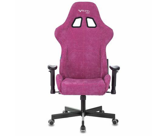 Игровое кресло Бюрократ Zombie VIKING KNIGHT Fabric Light-15 малиновый, Вариант цвета: raspberry фото, изображение 14
