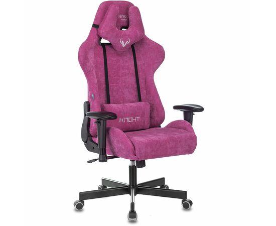 Игровое кресло Бюрократ Zombie VIKING KNIGHT Fabric Light-15 малиновый, Вариант цвета: raspberry фото, изображение 2