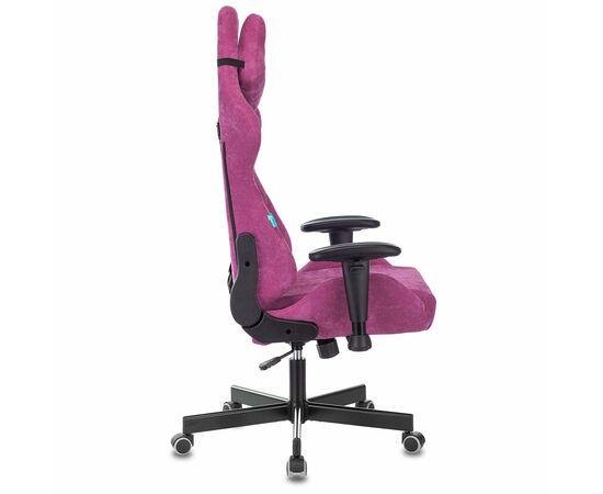 Игровое кресло Бюрократ Zombie VIKING KNIGHT Fabric Light-15 малиновый, Вариант цвета: raspberry фото, изображение 3
