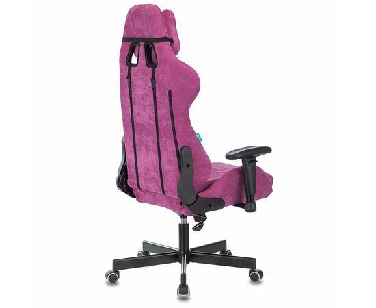 Игровое кресло Бюрократ Zombie VIKING KNIGHT Fabric Light-15 малиновый, Вариант цвета: raspberry фото, изображение 5