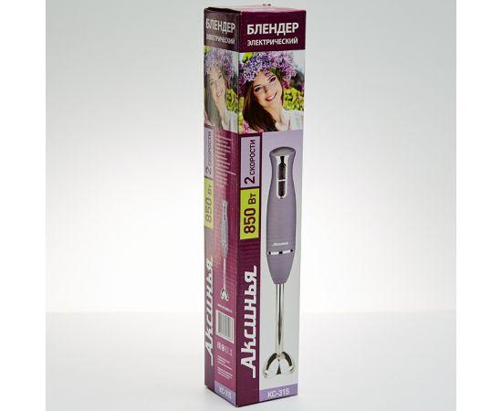 Блендер Аксинья КС-315 серый, 850Вт фото, изображение 2