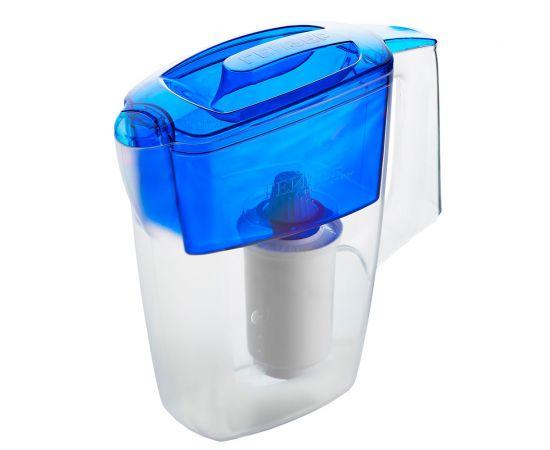 Фильтр-кувшин Гейзер Альфа синий (62047) фото, изображение 2