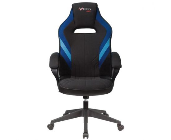 Игровое кресло Бюрократ VIKING 3 AERO BLUE, Вариант цвета: black/blue фото