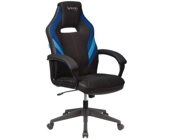 Игровое кресло Бюрократ VIKING 3 AERO BLUE, Вариант цвета: black/blue фото, изображение 2