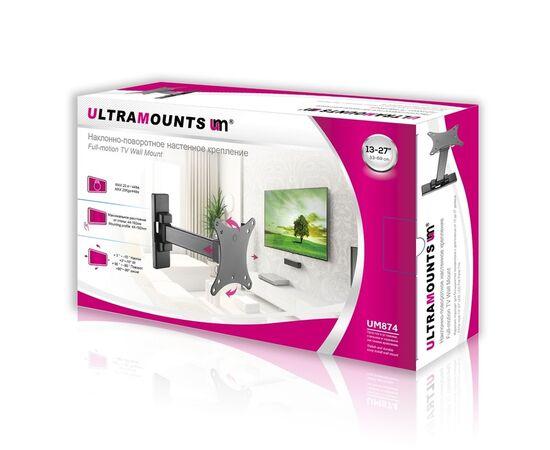 """Кронштейн """"Ultramounts"""" UM874 диагональ 13-27 фото, изображение 2"""