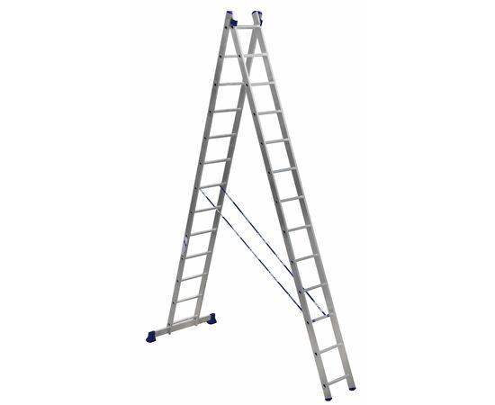 Лестница алюминиевая Stairs AL213 2 секции фото