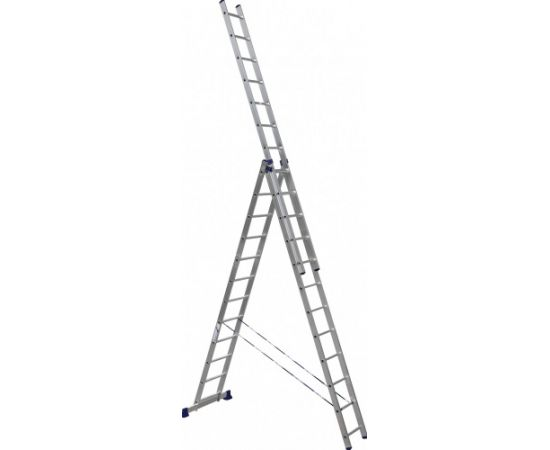 Лестница алюминиевая Stairs ALP312 3 секции фото