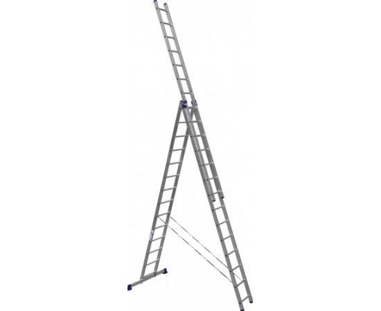Лестница  алюминиевая Stairs ALP314 3 секции фото