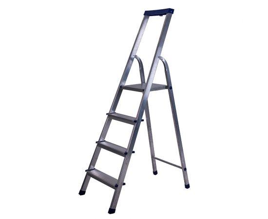 Стремянка Stairs LUX алюм. АS04LX фото
