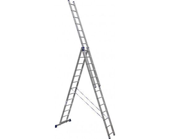 Лестница алюминиевая Stairs  AL313 3 секции фото