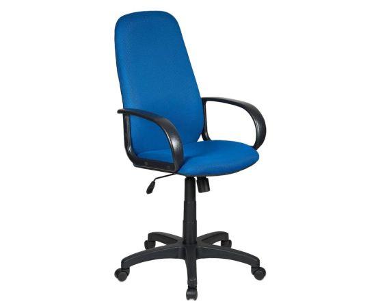 Офисное кресло руководителя Бюрократ CH-808AXSN/TW-10 синий (664040) фото, изображение 2