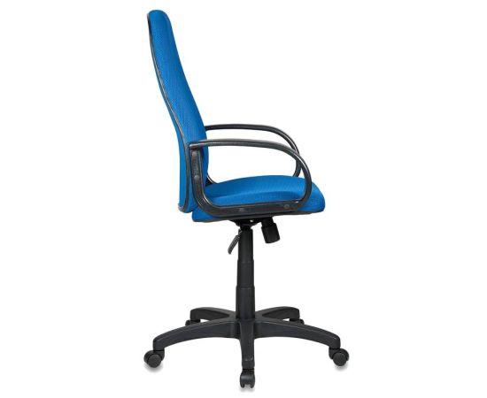 Офисное кресло руководителя Бюрократ CH-808AXSN/TW-10 синий фото, изображение 3