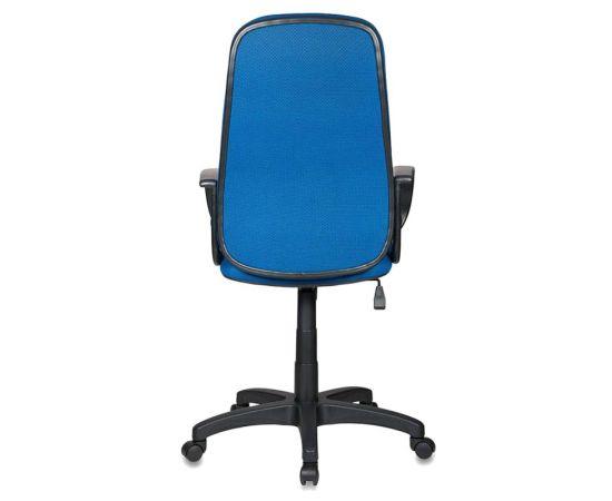 Офисное кресло руководителя Бюрократ CH-808AXSN/TW-10 синий фото, изображение 4