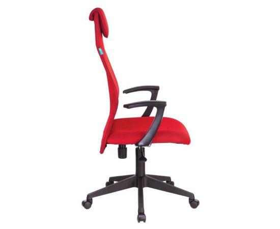 Офисное кресло руководителя Бюрократ KB-8N/R/TW-97N красный TW-35N TW-97N фото, изображение 3