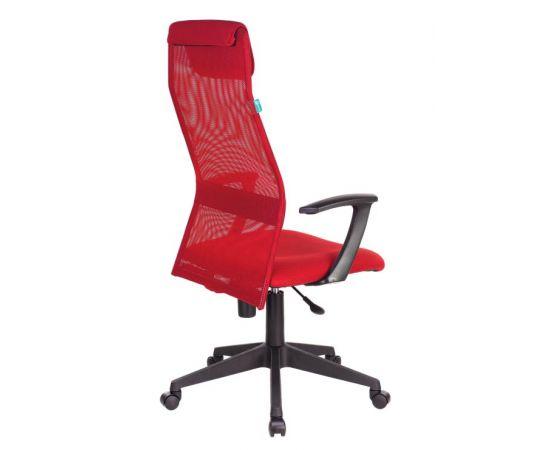Офисное кресло руководителя Бюрократ KB-8N/R/TW-97N красный TW-35N TW-97N фото, изображение 4