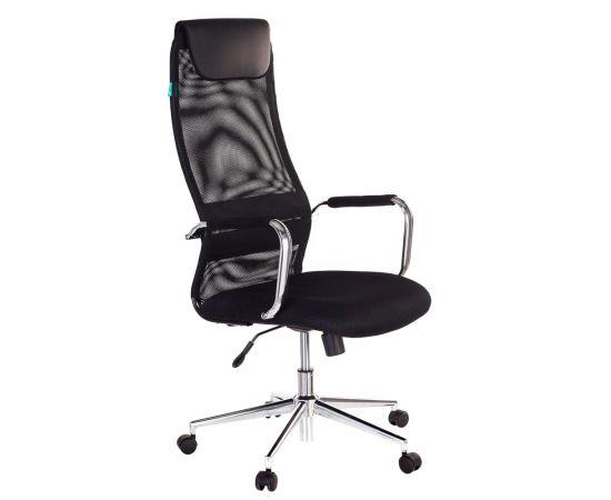 Офисное кресло руководителя Бюрократ KB-9N/BLACK TW-01 TW-11 фото, изображение 2