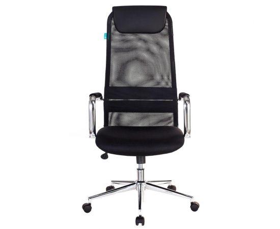 Офисное кресло руководителя Бюрократ KB-9N/BLACK TW-01 TW-11 фото