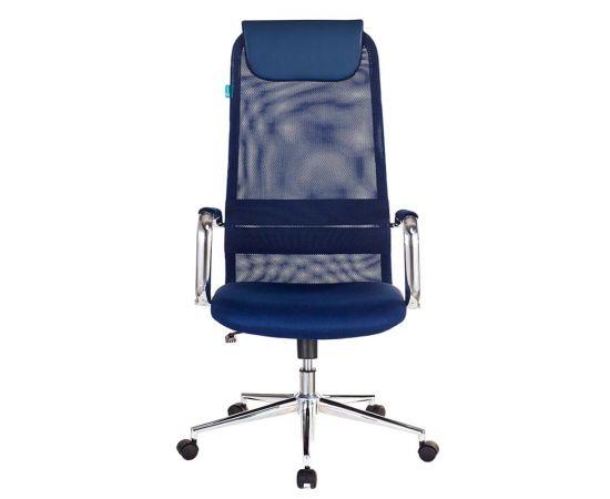 Офисное кресло руководителя Бюрократ KB-9N/DB/TW-10N синий (1140272) фото