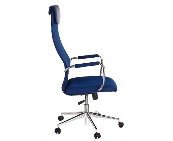 Офисное кресло руководителя Бюрократ KB-9N/DB/TW-10N синий (1140272) фото, изображение 3
