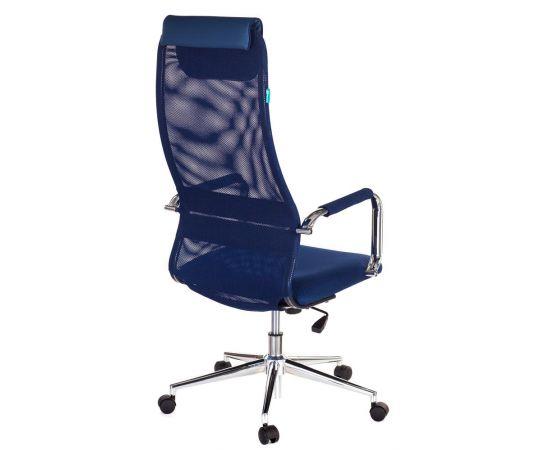 Офисное кресло руководителя Бюрократ KB-9N/DB/TW-10N синий (1140272) фото, изображение 4