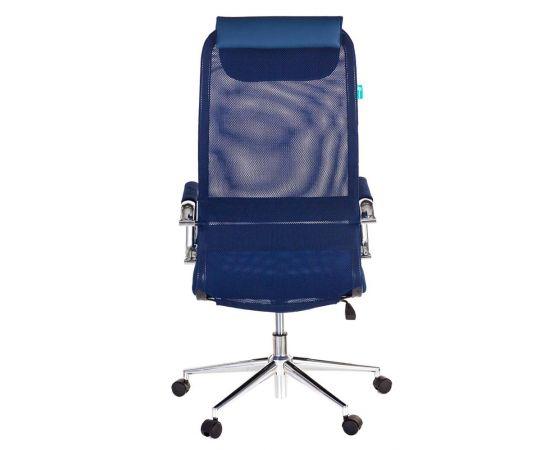 Офисное кресло руководителя Бюрократ KB-9N/DB/TW-10N синий (1140272) фото, изображение 5