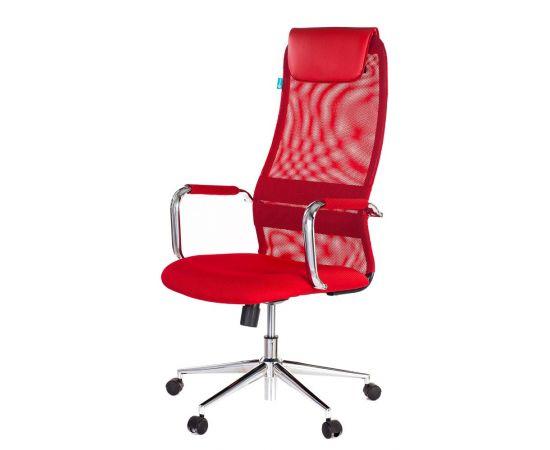 Офисное кресло руководителя Бюрократ KB-9N/R/TW-97N красный (1140274) фото, изображение 2